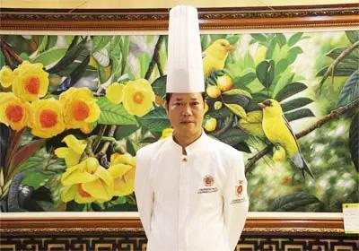 桂人堂展示中心厨师长:张治庆