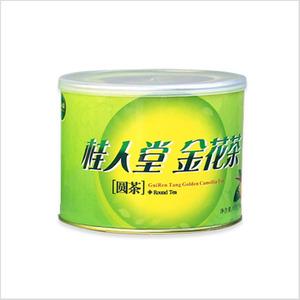 金花茶圆茶单罐装