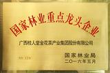 国家林业产业化重点龙头企业-桂人堂集团
